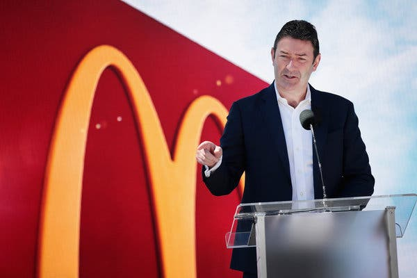 $70 Million To Be Probably Bagged As Payout By Fired McDonald's CEO