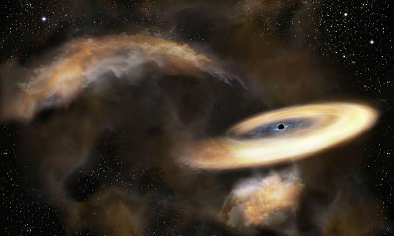 Researchers Spot The Lowest Mass Black Hole In The Cosmos